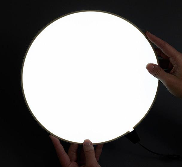 Stock EL light panels. Circle panel shown.