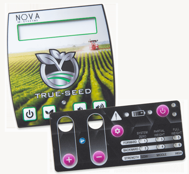 Digital full color printed graphic overlay for a membrane switch