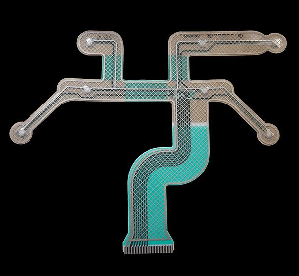 Custom die cut membrane switch